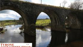 PIC OF THE WEEK: The old railway bridge over the Camowen River, near the new Omagh hospital. (Photo by Alan Neil)