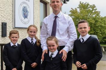 Former Gortin man settles into new post as school principal