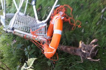 Vandalism to life saving equipment in Omagh