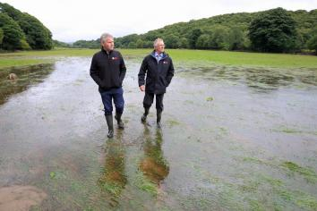 Minister Poots opens £2.7million support scheme for farmers impacted in 2017 flooding