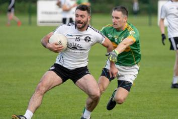 County champions Omagh survive major scare