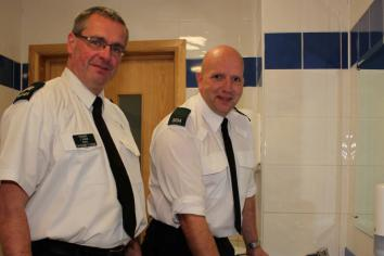 Wiping up the evidence…..Omagh police in new initiative to crack down on cocaine use