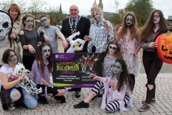 Spectacular fireworks display finale to spooky Haunted Halloween programme in Omagh!