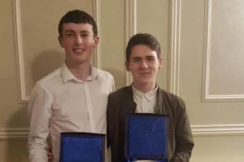 Jack and Sorcha honoured at Ulster Star Awards