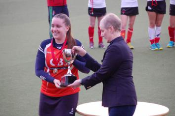Lyndsey McCay follows in footsteps of sister Shirley as Omagh crowned Senior Cup champions