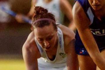 Gemma impressing for Ireland on Chile tour