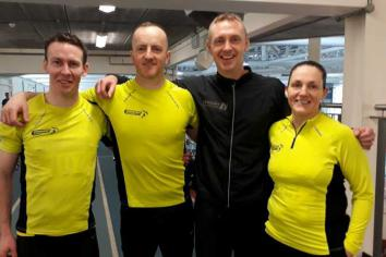 Record-breaking success for Omagh Harriers' Trevor