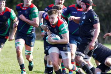 Bonus point victory sends Clogher Valley top - with just two more games to play