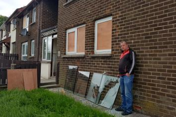 Omagh man left 'in fear' after flat targeted in spate of anti social activity