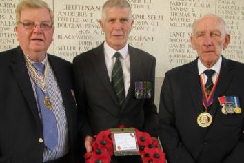 Ballygawley and Castlederg Remembrance Group attend Battle of the Somme ceremonies