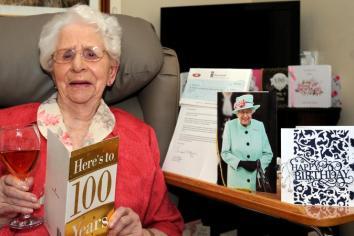 Gortin's Rosella celebrates 100th birthday milestone