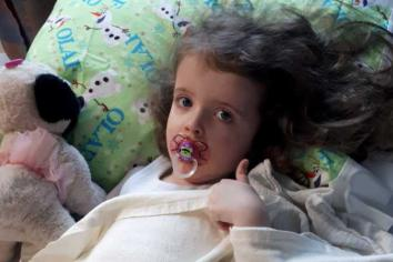 Brave little Maisie to make trip to Philadelphia hospital in hope of 'good news'