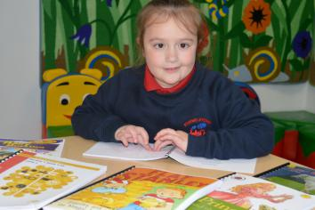 Fivemiletown schoolgirl benefits from braille book produced by Maghaberry prisoners