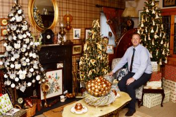 Omagh man transforms his home into a Christmas tree 'winter wonderland' - and it opens tonight!
