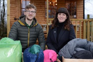 Omagh couple doing their bit for Calais refugee crisis this Christmas