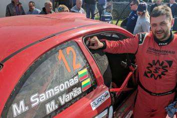 All geared up for Samsonas Rally Fivemiletown!