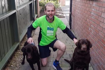Ultra-runner Richard completes 'home marathon'!