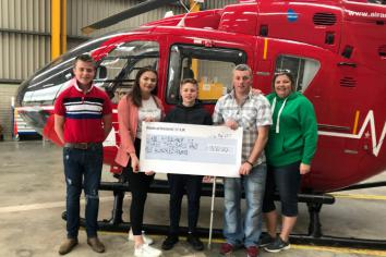 Omagh family praise heroic Air Ambulance service