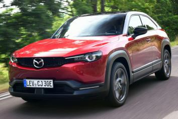 Mazda turn on the style with MX-30