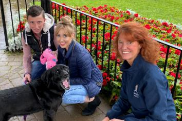 Kind Tyrone couple give 12-year-old Labrador a new home