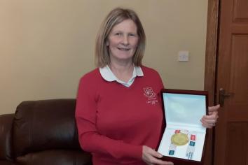 Karen to receive Volunteers in Sport award