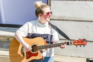 Live music returns to town centre with 'Live & Local @ Lunchtime'