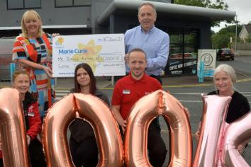 McBride Group smashes through £100,000 fundraising milestone for Marie Curie charity