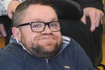 Disability rights campaigner Dermot nominated for prestigious UK-wide award