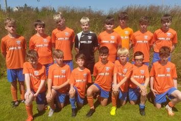 Young footballers shine in the Mountjoy Cup