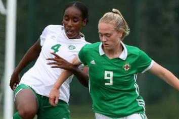Killen girl makes debut for Northern Ireland