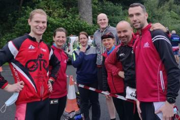 Omagh Triathlon Club members star in Letterkenny