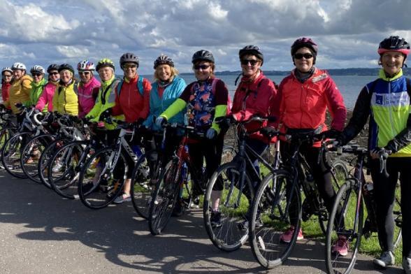 AXA Community Bike Rides in Tyrone raise £2,456 for Motor Neurone Disease